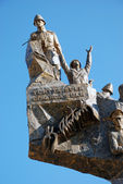 Monument of Victory in Echeban, Cana Cale, Dardanelles, Turkey — Stock Photo