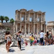 Tourists at Ephesus, near Izmir, Turkey — Stock Photo #11318773