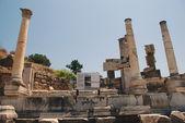 Pillars at Ephesus, Izmir, Turkey, Middle East — Stock Photo