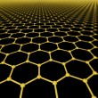 Stock Photo: Background of graphene molecules