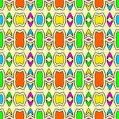 Abstract seamless patterns. — Stockvektor