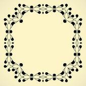 Vintage frame. — Stockvector