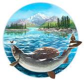 Fiske — Stockfoto