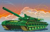 The tank — Stock Vector