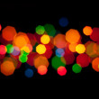 Stock Photo: Abstract lights on a black background