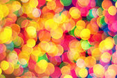Abstract lights bokeh background — Stock Photo