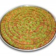 A Tray of Baklava - Including clipping path — Stock Photo