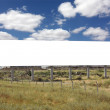 Blank Wide Billboard - Including clipping path around blank area — Stock Photo #11856502