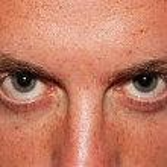 Scary Eyes closeup — Stock Photo