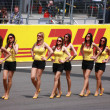ISTANBUL, TURKEY - MAY 8: Formula 1 GP Grid Girls before race at — Stock Photo