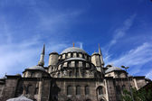 Front side of New Mosque Istanbul — Stock Photo