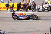 ISTANBUL, TURKEY - MAY 8: Formula 1 GP, Red Bull pilot Mark alan — Stock Photo