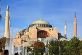Haghia Sophia - Church and mosque in Istanbul — Stock Photo