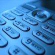 Cell phone pads close-up 4 — Stock Photo