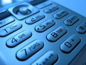 Cell phone pads close-up 5 — Stock Photo