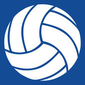 Volleyboll vektor icon — Stockvektor