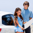 A couple is going on a car trip — Stock Photo #11078383