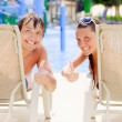 A couple is sunbathing — Stock Photo #11653744