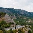 Stock Photo: Road in Crimea.