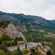 The road in the Crimea. — Stock Photo