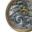 Pocket Watch Gearing — Stock Photo