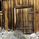 Old Barn Siding Window and Door — Stock Photo