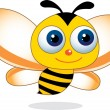 Cute Bee Showing — Stock Vector #11455868