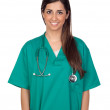 Stock Photo: Atractive medical girl