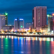 danang city evening view — Stock Photo