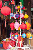 Lanterns Shop — Stock Photo