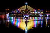 Han River Bridge in Danang — Stock Photo