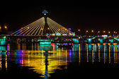 Han river bridge i danang — Stockfoto