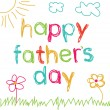 Royalty-Free Stock Immagine Vettoriale: Card for Father&#039;s Day