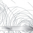 Royalty-Free Stock Vector Image: Metal abstract steel scribbles background