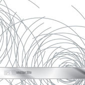 Metal abstract steel scribbles background — Vector de stock