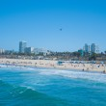 Santa Monica Coast beaches — Stock Photo