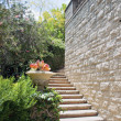 Natural stone stairs landscaping — Stock Photo #11646685