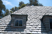 Stone roof — Stock Photo