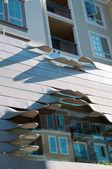 Façade moderne en style classique — Photo