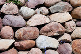 Stones in brown colors — Stock Photo