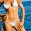 Attractive female body tan. — Stock Photo #11386146