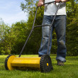 Foto Stock: Lawn mower