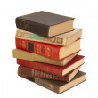 Old books in a stack — Stock Photo #11630212