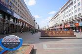 Heihe Central Pedestrian Street Trading view — Stock Photo