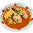 Royalty-Free Stock Photo: Chiken Massaman curry