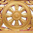 Stock Photo: Wheel of Dhamma