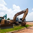 Stock Photo: construction machinery