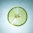 Stock Photo: Sliced lime