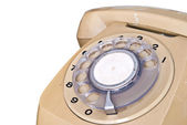 Close up of old telephone dial — Stock Photo