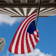 US variant Betsy Ross flag in Chicago — Stock Photo